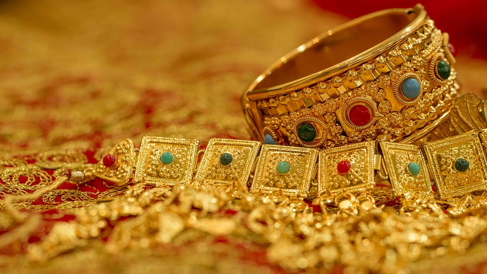 Image result for gold jewelries